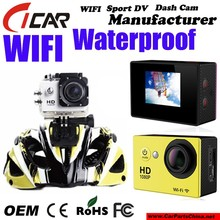 Hot Popular SJ4000 Action Camera/FHD 1080P with WIFI Waterproof Sport Action Cam