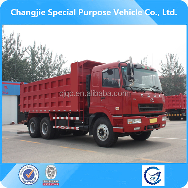 hot-selling camc 6x4 dump truck height
