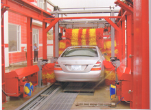 Efficient water jet advanced tunnel car wash machine with high quality