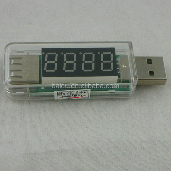 Clear color Mini Portable high voltage insulation tester voltage meter for digital products