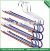 PVC Coating Drying Rack colorful metal clothes hanger rack Aluminum hanger rack