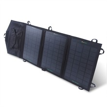 3 Folding 10.5W Foldable Solar Mobile Phone Panel Charger with inner Voltage Controller USB 5V Output