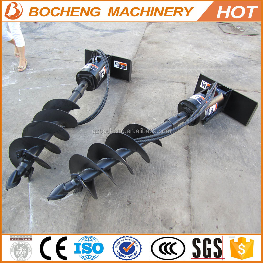 2016 hot sale high quality earth digging tools fence post hole earth augers for sale