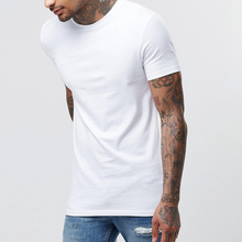 Best Selling Slim Fit Men's t shirts Plain White t-shirts Designer Western Tops Images Men's t shirts