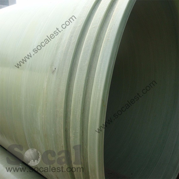 water treatment glass fiber reinforced plastic GRP pipes
