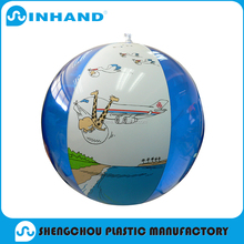 customised cheap high quality pvc inflatable beach ball /water ball /bouncing ball outdoor