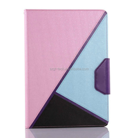 New Arrival multi function stand Meteor Shower Leahter Case For ipad 6 Air 2