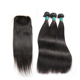 Ombre hair extension lace closure brazilian hair weave pink