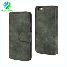 Wholesale PU and PC new leather phone case for iphone5/5S,6/6s/6 plus,7/7 plus with special card slots design