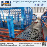 Raised Mezzanine Flooring Steel Grating