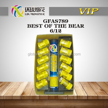 "GFAS789 BEST OF THE BEAR 1.5"" HIGH QUALITY FACTORY WHOLE MANUFACTURER 1.3G UN0335 LIUYANG GLOBAL FIREWORKS"