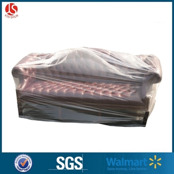 Furniture Cover Plastic Bag for Moving Protection and Long Term Storage
