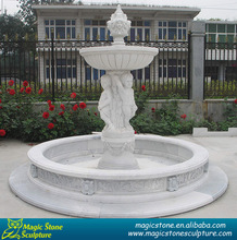 marble stone artificial water fountain