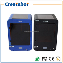 Big size 280*250*400mm High Quality Precision max 3d Printer DIY kit with 1 Roll Filament 4GB SD card and Touch Screen