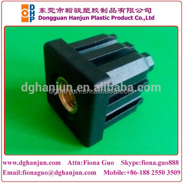 List manufacturers of plastic end cap square tube buy