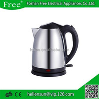 Mini electric travel stainless steel electric kettle turkish tea maker