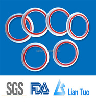free sample high temperature resistance modified ptfe gasket