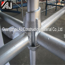 High loading capacity Q235 Steel Cuplock Scaffolding Concrete Supporting cuplock system for cement building construction