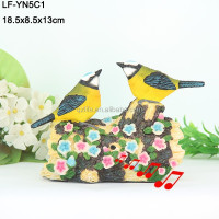 resin bird figurines