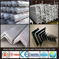 cold rolled SS304 equal angle steel from steel fatory