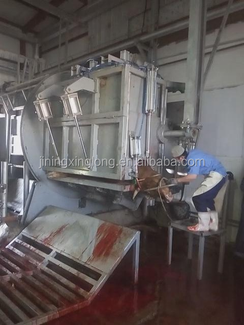 slaughterhouse equipment for cattle ritural halal slaughter house slaughtering machine killing box