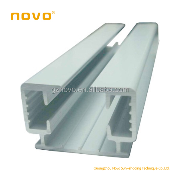 Novo Automatic Shower Curtain Rod Double Track With Remote Control Curtain Motor For Motorized