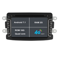 Android 7.1.1 7 Inch Car DVD Player For Dacia Sandero Duster Renault Captur Lada Xray 2 Logan 2 RAM 2G WIFI GPS Navigation Radio