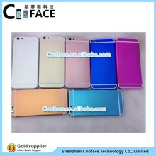 Color Replacement Back Cover Housing for iPhone 6 Plus Gold Housing Cover