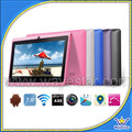 "cheap 7"" quad core A33 512mb/4gb 2 camera anroid 4.4 tablet Q88-3"