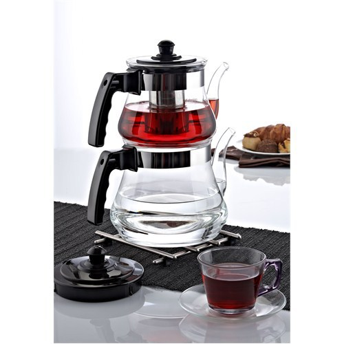 Chinese Tea Set Tea Accessory Glass Teapot Heat Resistant