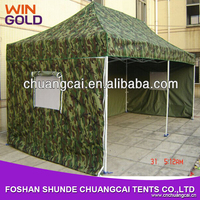 2014 Best quality waterproof canvas army military tents