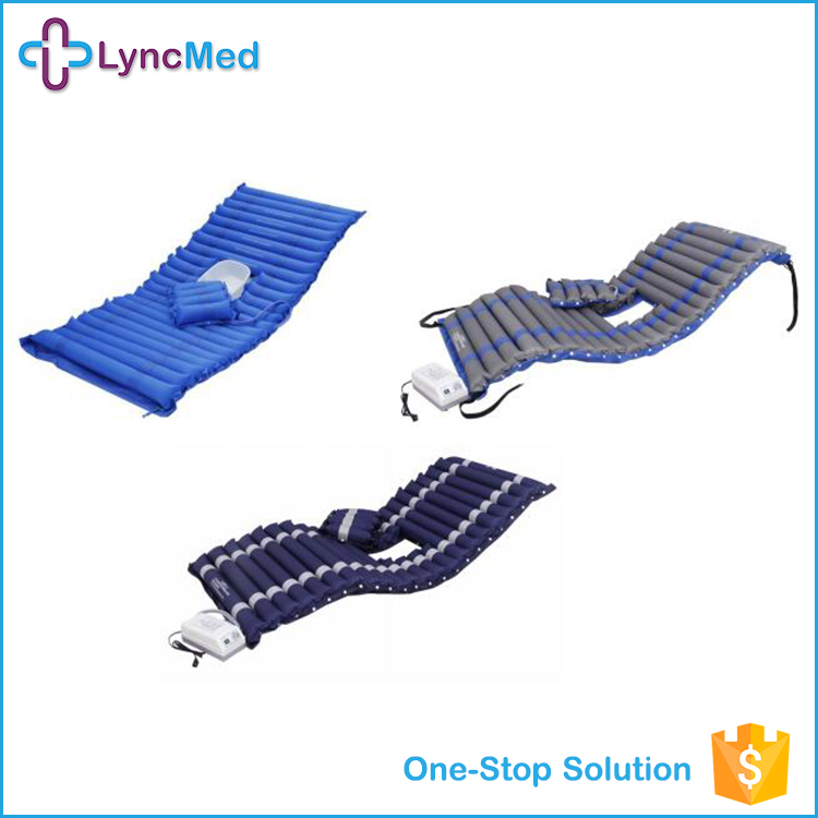 wave model anti bedsore inflatable hospital bed air mattress