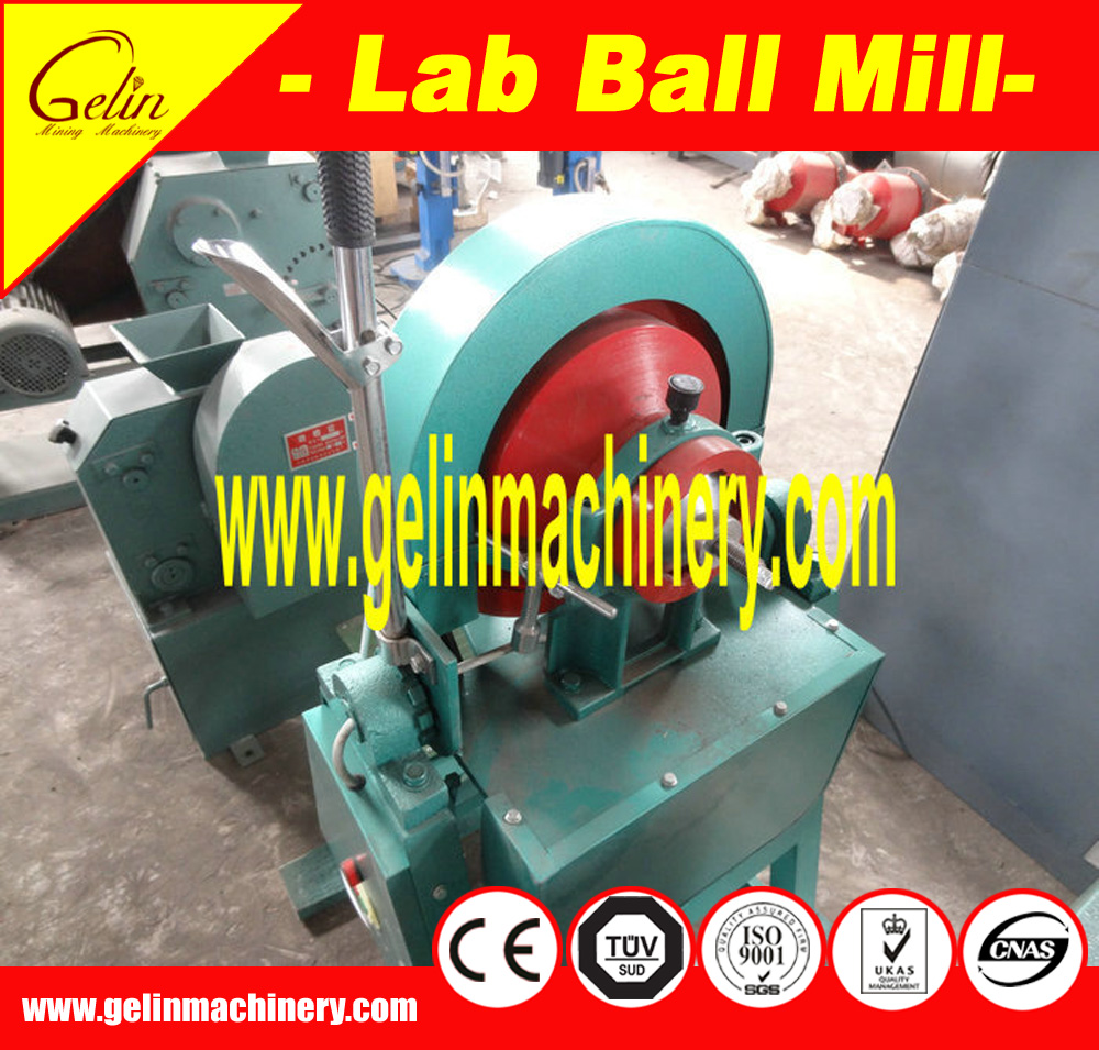fine grinding machine lab disc mill/small ball mill machine