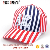 fashional baseball cap,full baseball cap,fashion striped baseball cap