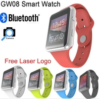 1.44 Inch MTK6260A Bluetooth hd ips screen q8 watch phone