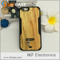 Custom made design flexible soft TPU dirt-resistant wood grain phone back cover cases for iPhone 5