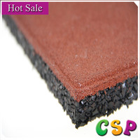 Chinese factory supplier cheap outdoor playground rubber tile,rubber roof tiles