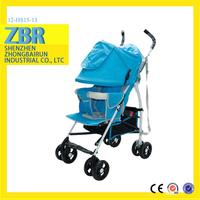 latest style adjustable baby pram wheels stroller tire wheel stroller folded quinny