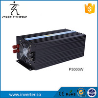 One year warranty ,dc 12v/24v solar panel inverter 3000w