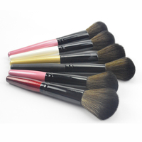 Factory black cheap makeup blush blush 1 pcs single makeup brush for woman cosmetic promotion gift