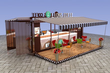 2016 Outdoor coffee container kiosk design | retail coffee container kiosk