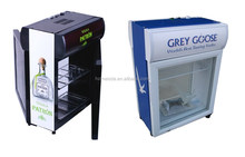 Double door cooler,bar table cooler,small beverage cooler