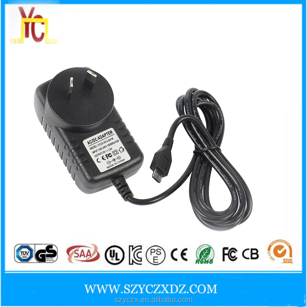 free samples AC/DC 12V 2A wall plug power adapter supply use for iphone 6 case charger