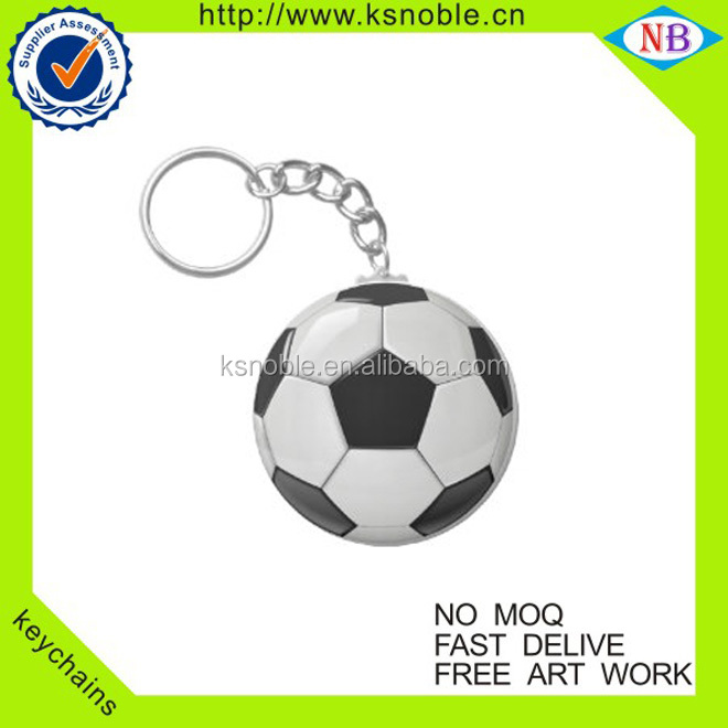 wholesale Chain Manufacturer Round shape cutom metal key chain