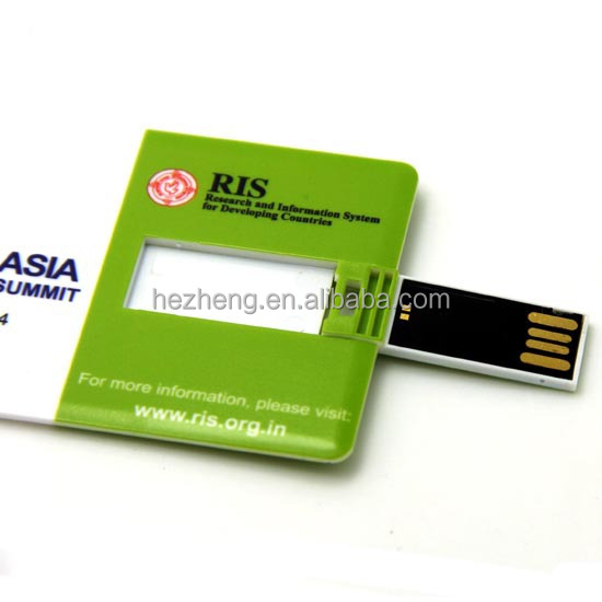 Custom Printing Card Shape Paper Usb Business Card Buy