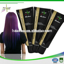 Temporary Hair Dye Colors , Profession No Peroxide Temporary Hair Dye