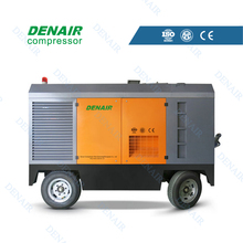 Electric movable explosion proof rotary screw air compressor