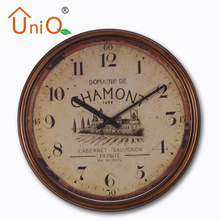 P1306 simple round wall clock for sale