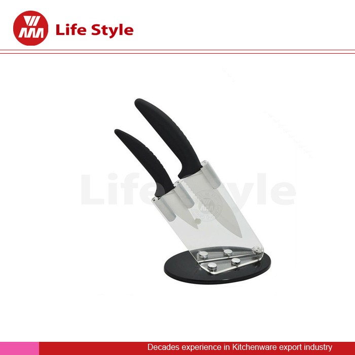 2pcs ceramic knife steak knife set