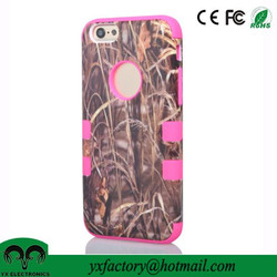 New Products fancy weeds pc silicone cheap two in one cell phone case for Apple iphone 6